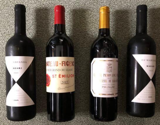 パーカーポイント高得点のグレートヴィンテージの赤ワイン