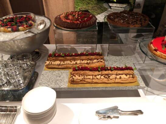 LA LISTE日本最優秀レストランを祝うレセプションのデザート (2)