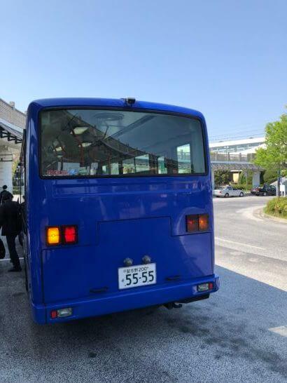 シェラトン・グランデ・トーキョーベイの送迎バス