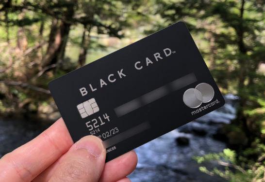 ラグジュアリーカード(ブラックカード)
