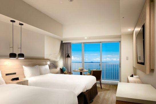ヒルトン沖縄瀬底リゾートの客室
