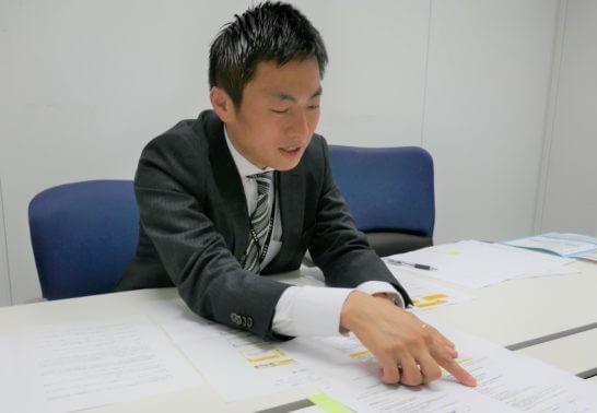 アルヒの高橋健史さんが解説しているシーン (2)