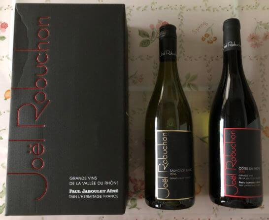 ジョエル・ロブションのハウスワイン赤・白セット