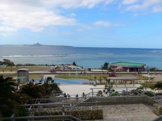 美ら海水族館からの眺め