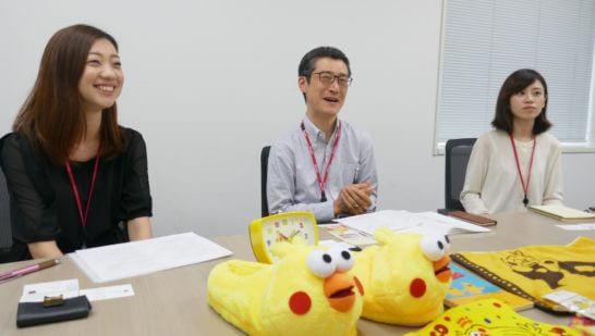dカードの久保田さん、梶浦さん、井崎さん