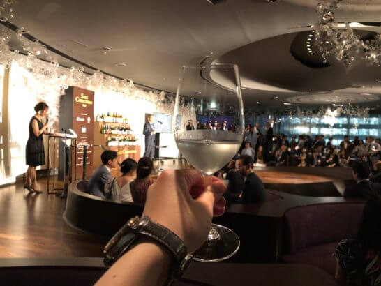 SAKE COMPETITION受賞パーティーの乾杯