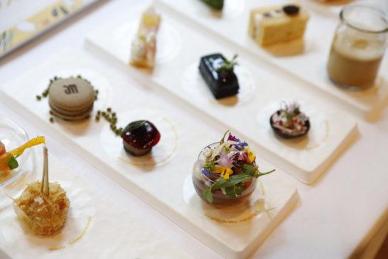 ダイナースクラブ フランスレストランウィークのフィンガーフードのアップ (2)