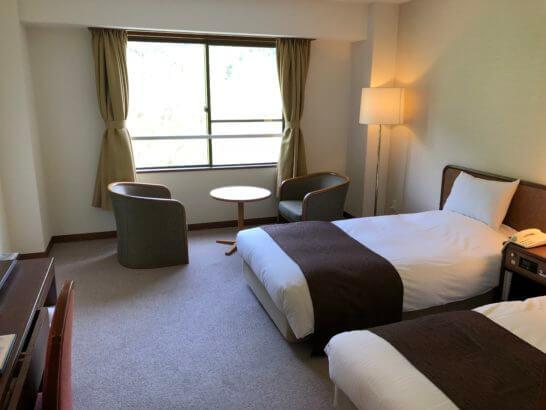上高地ルミエスタホテルの客室