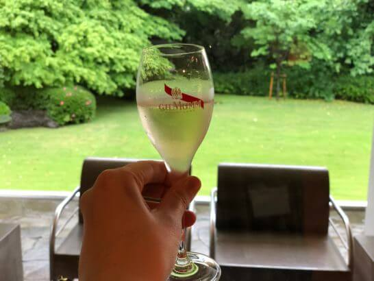 ダイナースクラブ フランスレストランウィークのシャンパン