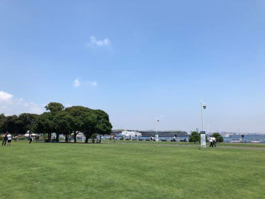 横浜の山下公園
