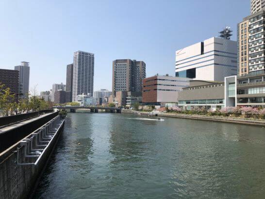 大阪・中之島の川
