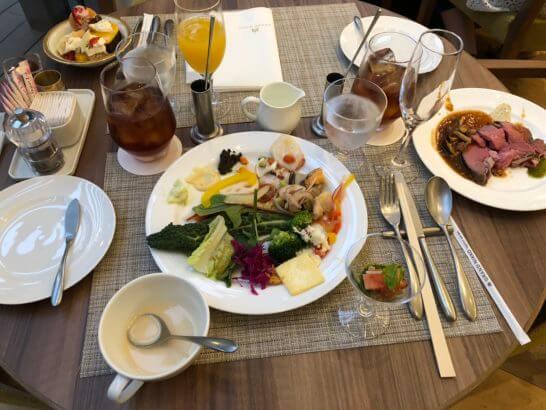 グランドニッコー東京台場のGARDEN DININGのディナーブッフェ