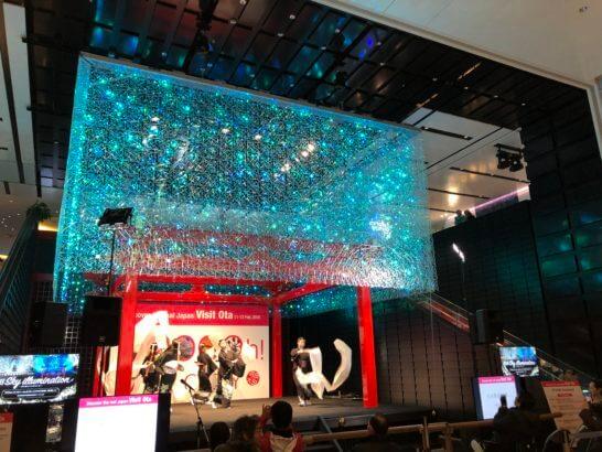 羽田空港 国際線ターミナルの日本舞踊