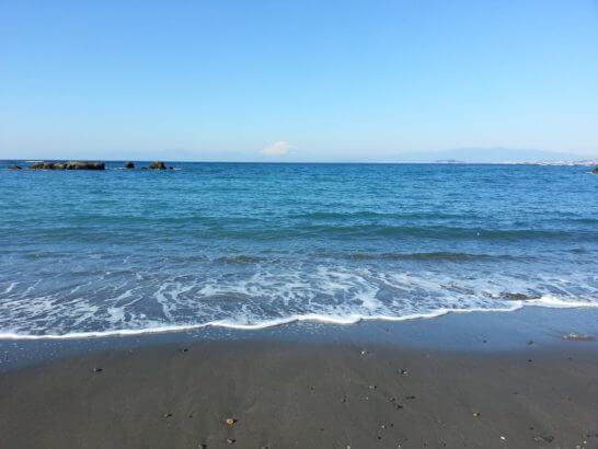 神奈川県の海