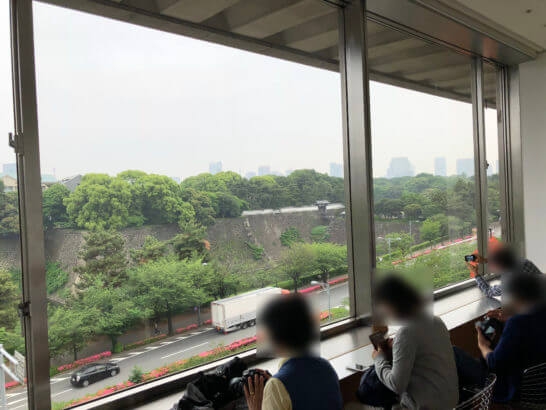 東京国立近代美術館の展望休憩室「眺めのよい部屋」