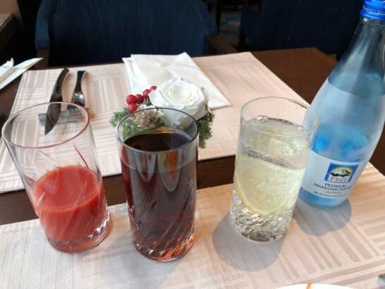 横浜ベイシェラトン ホテルのクラブラウンジのドリンク類 (2)