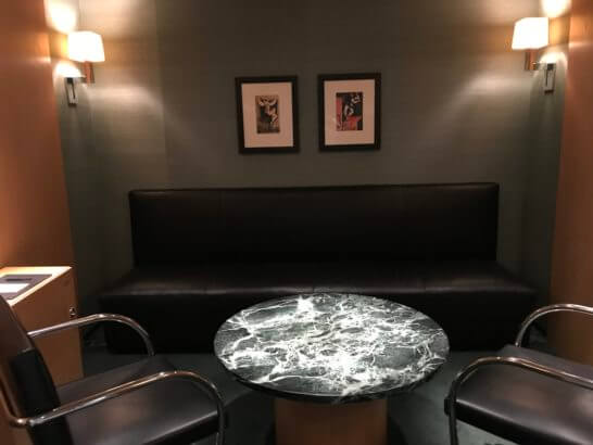 クラブ オン ザ パークの待合室