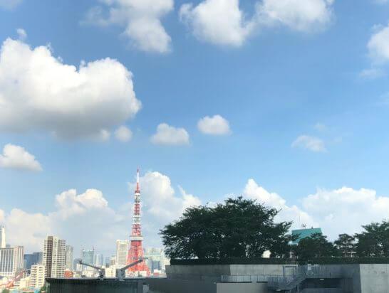 グランドハイアット東京のデラックスツインのからの眺め