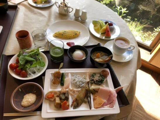 上高地ルミエスタホテルの朝食