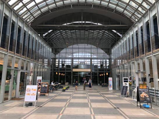グランドニッコー東京台場の入り口