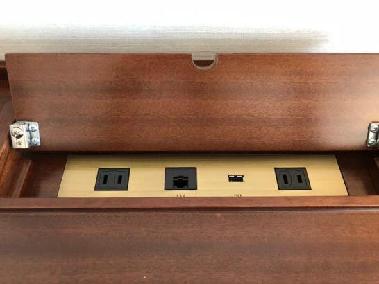 ホテルニューグランドの電源類