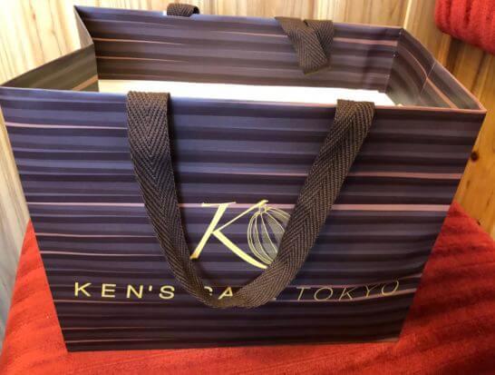 ケンズカフェ東京の紙袋