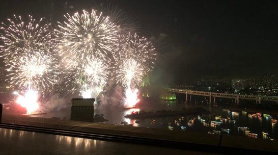 東京花火大祭2018の花火