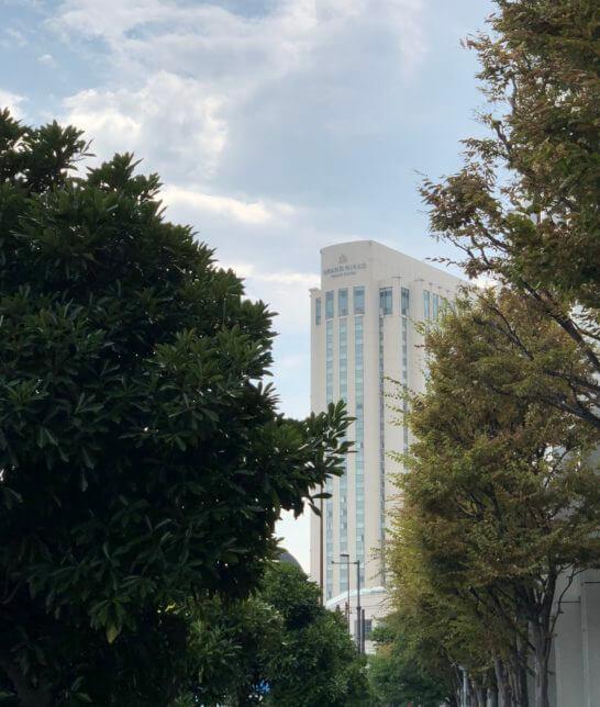 グランドニッコー東京台場の外観