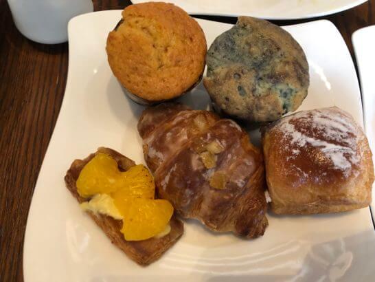 セントレジスホテル大阪の朝食(パン)