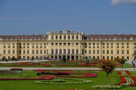 オーストリアのシェーンブルン宮殿
