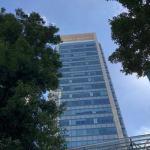 SBIネオモバイル証券のオフィスがある泉ガーデンタワー
