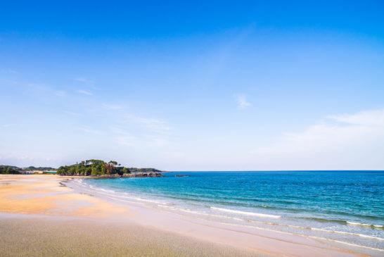 長崎県の壱岐の島海岸