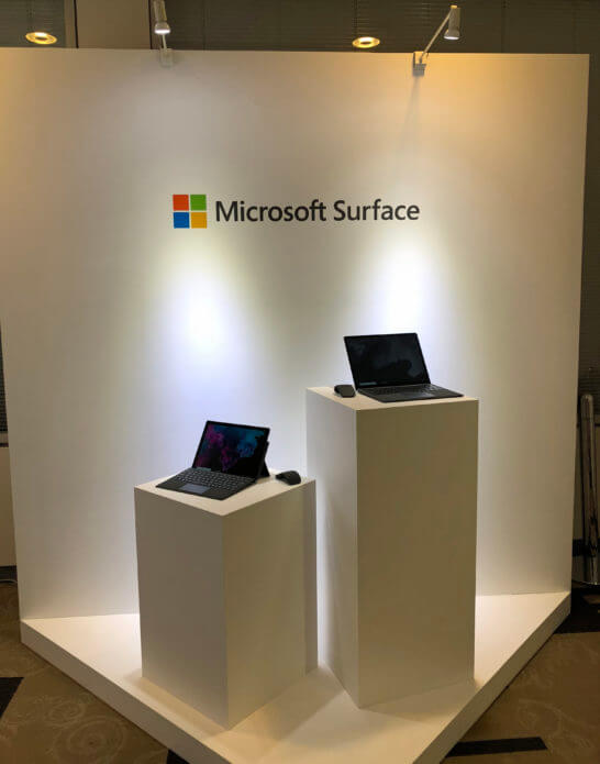 Surface Pro 6とLaptop 2