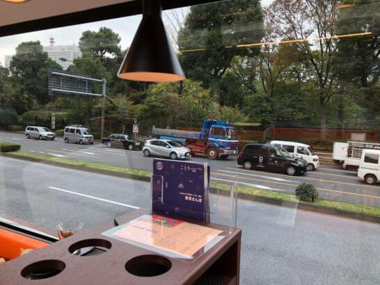 東京レストランバスの車窓