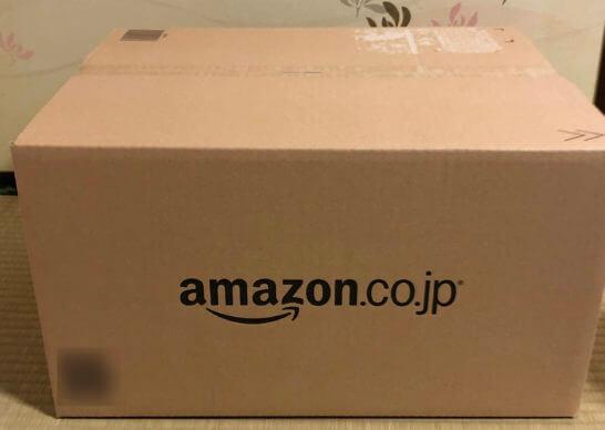 Amazon.co.jpで買った商品のダンボール