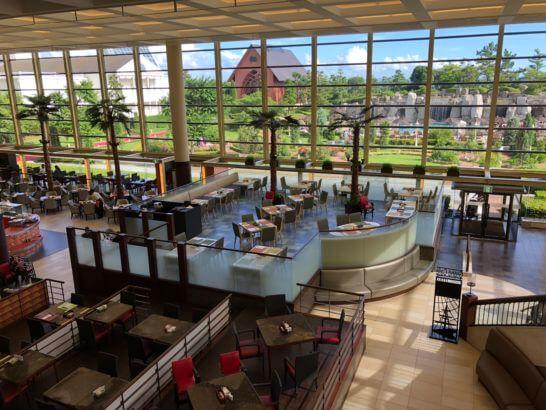 シェラトン・グランデ・トーキョーベイのレストラン「ブッフェダイニング グランカフェ」