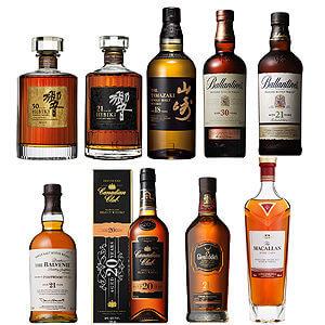 高酒齢ウイスキー飲み比べ9本セット(サントリー響、山崎入り)
