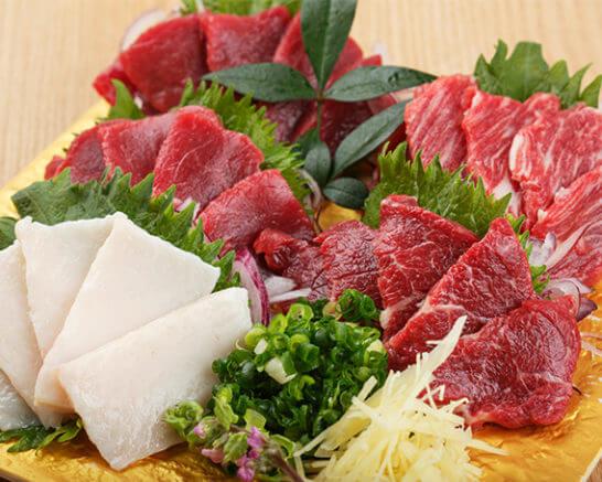 熊本県高森町 馬刺しの人気部位3種セット
