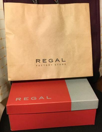 リーガルの紙袋と箱