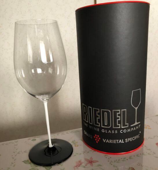 リーデルのボルドーワイングラス