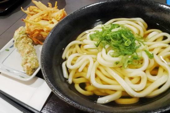 丸亀製麺のうどん (2)