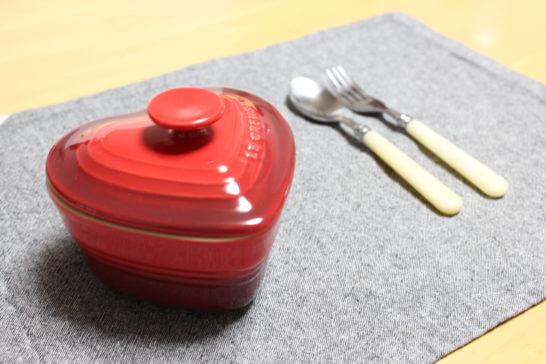 ル・クルーゼのハート型鍋