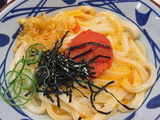 丸亀製麺のうどん (3)
