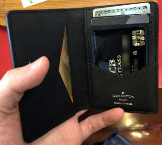 JCB THE CLASSが入ったカードケース
