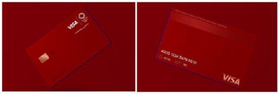 LINE Pay Visa クレジットカード(オリンピック限定スペシャルデザイン)
