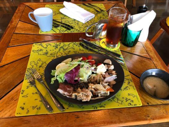 Wホテル台北の朝食
