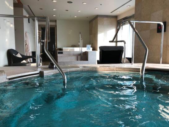 ザ・リッツ・カールトンホテル東京のジャグジー