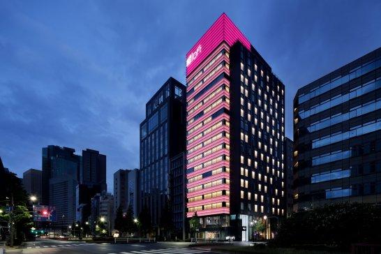 アロフト東京銀座の建物