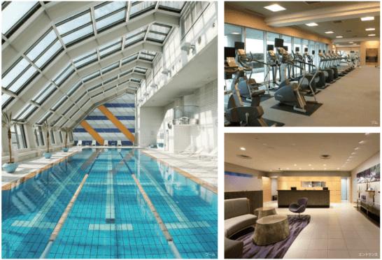 スイスホテル南海大阪 ピュロヴェル スパ&スポーツ