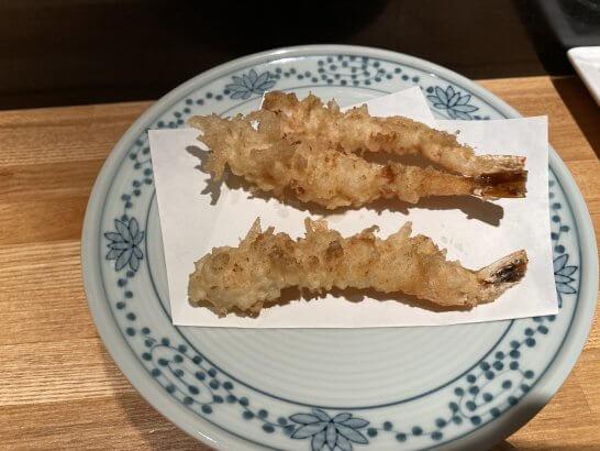 天ぷら新宿つな八の海老天ぷら